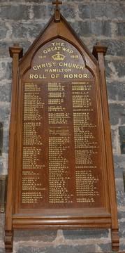 Normal victoria hamilton christ church anglican church roll of honour 20337087060 o