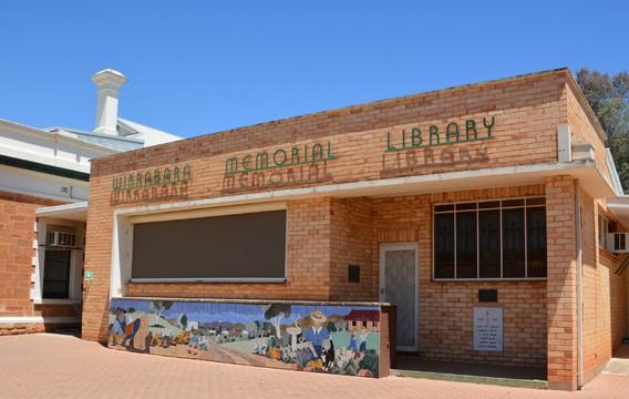 Normal wirrabara memorial library mid north south australia 45655597241 o