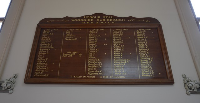 Normal world war one  world war two honour roll of rss  aila woodside sub branch south australia 33537931206 o
