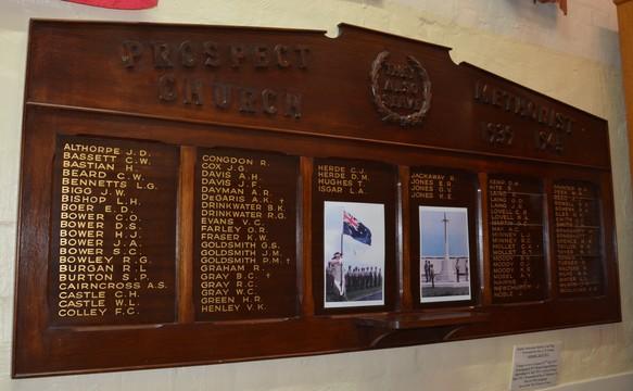 Normal world war two roll of honour of former wesleyanmethodistuniting church prospect south australia 15920770139 o