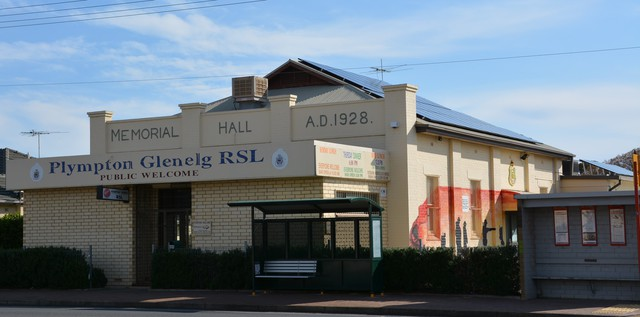 Normal plympton memorial hall of 1928  plympton glenelg rsl  plympton veterans centre as it appeared in 2016 south australia 31168447038 o