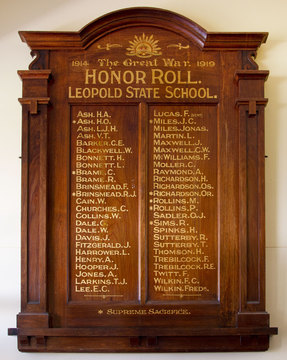 Normal leopold state school honor roll