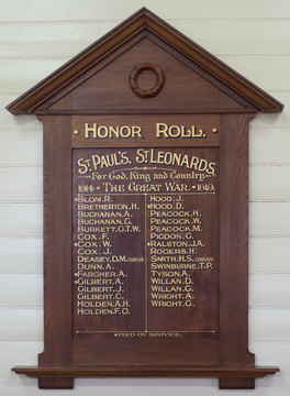 Normal st leonards st paul s anglican church honor roll