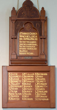 Normal winchelsea st thomas  roll of honor