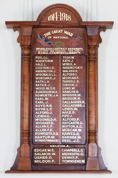 Normal inverleigh   districts residents roll of honor