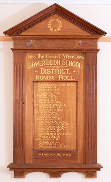 Normal batesford lower leigh school and district honor roll