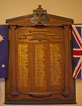 Normal cooks hill st john honour roll