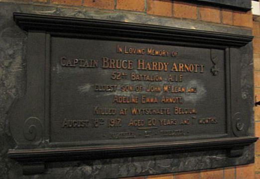 Normal strathfield st anne s anglican church arnott memorial plaque