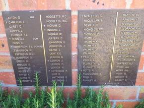 Profile pic landsborough war memorial