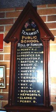 Normal zoom tenambit roll of honour