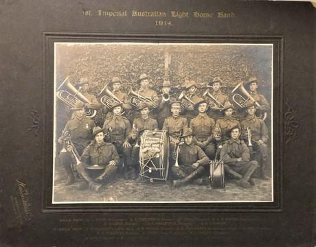Normal 1st australian light horse band 1914