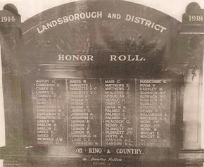 Profile pic landsborough   district honour roll