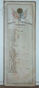 Normal south boulder school honour roll 2