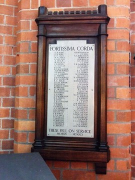 Normal brisbane grammar school memorial library ww1 hb 2