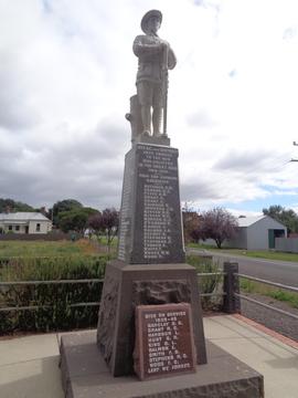 Normal the war memorial at beeac victoria 34086070005 o