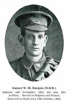 Profile pic burgess  william milne 19049