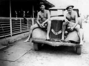 Profile pic ross hough and mate near darwin 1942