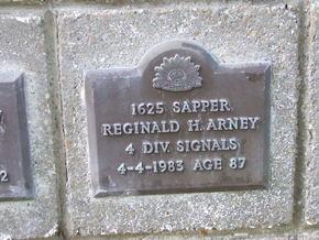 Profile pic arney  reginald h