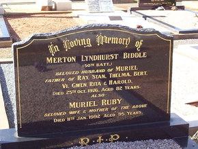 Profile pic biddle  merton lyndhurt   muriel ruby