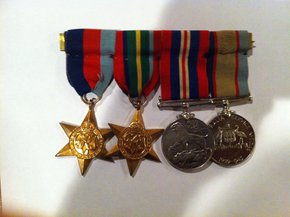Profile pic medals front
