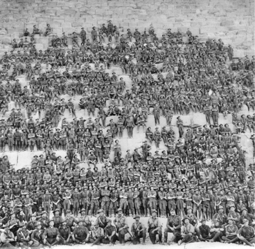 Normal australian 11th battalion group photo