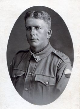 Profile pic percy pitman wwi
