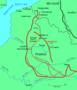 Thumb map of battle