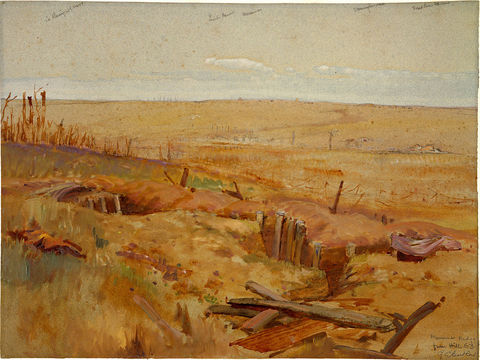 Normal 1024px george edmund butler   messines ridge from hill 63