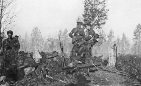 Normal fusiliers north russia 1919  awm04700