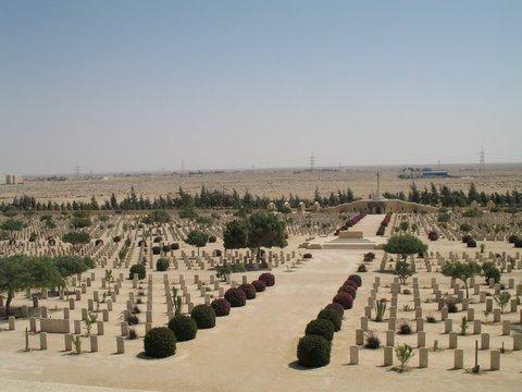 Normal el alamein cemetery   by azeid