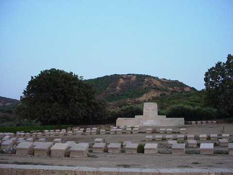Normal ari burnu cemetery  anzac