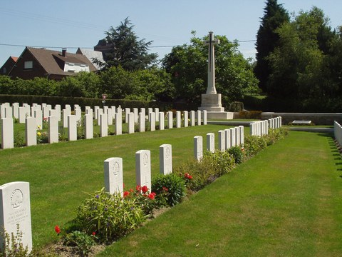 Normal borre british cemetery