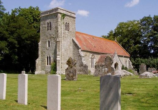 Normal baverstock  st. edith  churchyard