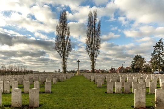 Normal brandhoek new military cemetery no.3