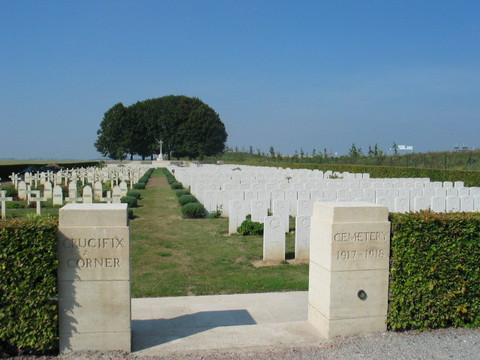 Normal crucifix corner cemetery 1917 1918