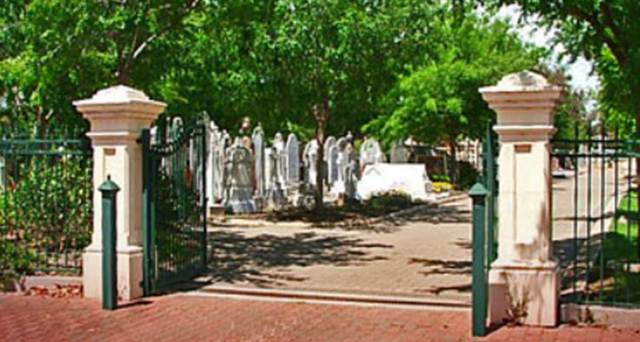 Normal payneham cemetery   pic front gates