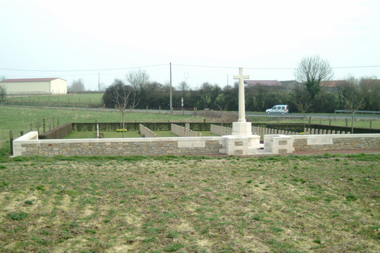Normal le peuplier cemetery