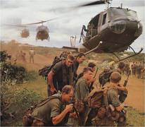 Medium vietnam helo pick up