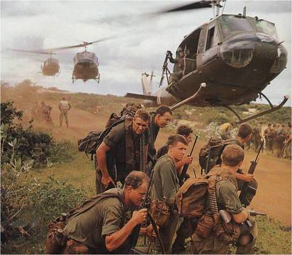 Normal vietnam helo pick up