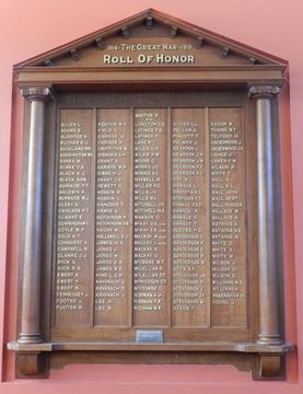 Normal violet town world war one honour roll 17098 94552