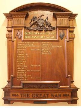 Normal 20140902 adelaide town hall wwi honour board