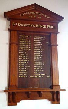 Normal st dunstan 96s honour roll 49395 98109