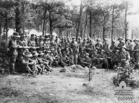 Normal 32nd battalion late 1918