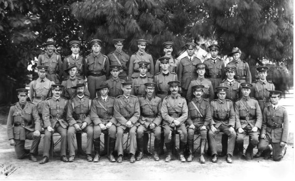 Normal 10th  battalion officers october 1914