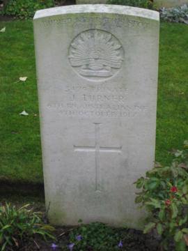 Profile pic turner headstone
