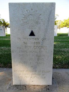 Profile pic cooper roy driver 4889  1070    headstone west tce  by kym horgan
