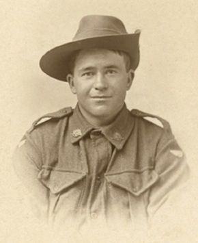 Profile pic miller hugh everett 719 private   43rd battalion. a labourer from oodla wirra  sa   cropped