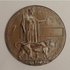 Profile pic commemorative medallion