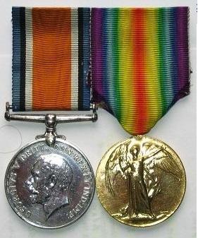 Profile pic ww1 medal set