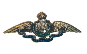 Profile pic royal flying corps cap badge